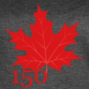 Canada 150 - Maple Leaf - Women's Vintage Sport T-Shirt