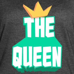 the queen - Women's Vintage Sport T-Shirt