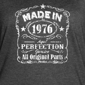 40th Birthday T Shirt Made in 1976 - Women's Vintage Sport T-Shirt
