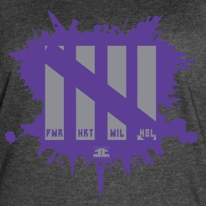 Attributes Gray/Purp - Women's Vintage Sport T-Shirt