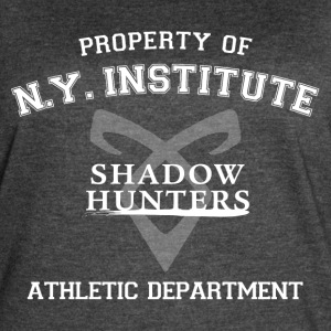 Shadowhunters - Property Of The New York Institute - Women's Vintage Sport T-Shirt