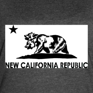 New California Republic Graphic Tee - Women's Vintage Sport T-Shirt