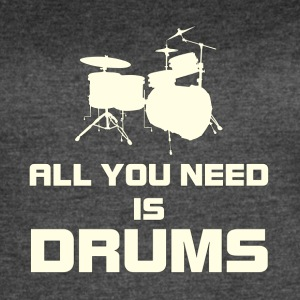 Need drums white color - Women's Vintage Sport T-Shirt