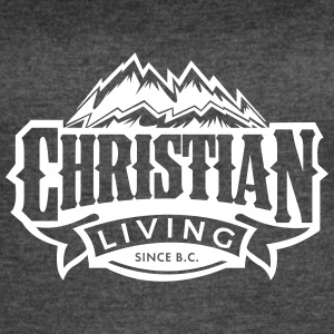 Christian Living - Women's Vintage Sport T-Shirt