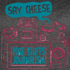 SAY CHEESE PINE BLUFFS JOURNALISM - Women's Vintage Sport T-Shirt