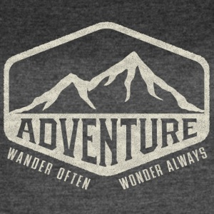 Adventure - Wander Often, Wonder Always - Women's Vintage Sport T-Shirt
