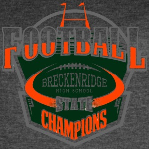 BRECKENRIDGE HIGH SCHOOL STATE - Women's Vintage Sport T-Shirt