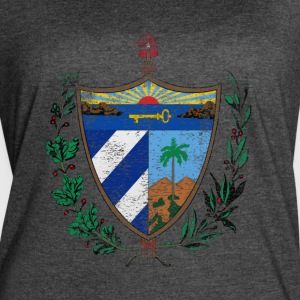 Cuban Coat of Arms Cuba Symbol - Women's Vintage Sport T-Shirt