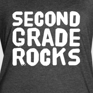 Second grade rocks - Women's Vintage Sport T-Shirt