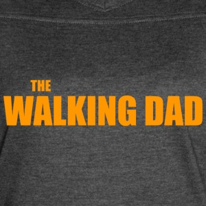 The Walking Dad Funny - Women's Vintage Sport T-Shirt