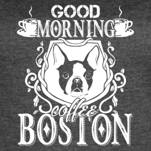 Boston Terrier Shirt - Women's Vintage Sport T-Shirt