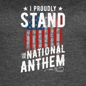 Stand For The National Anthem - Women's Vintage Sport T-Shirt