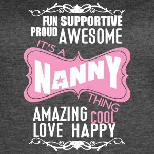 It's A Nanny Thing T Shirt - Women's Vintage Sport T-Shirt