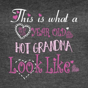 48 Years Old Hot Grandma Look Like T Shirt - Women's Vintage Sport T-Shirt