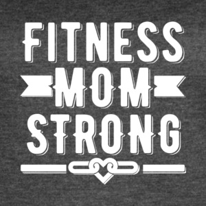 Fitness Mom Strong T Shirt - Women's Vintage Sport T-Shirt