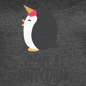 Unicorn Penguin - Women's Vintage Sport T-Shirt