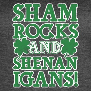 Sham rock and Shenanigans - Women's Vintage Sport T-Shirt
