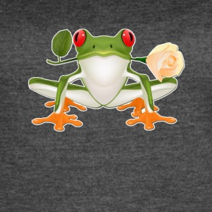 red eyed tree frog shirt - Women's Vintage Sport T-Shirt