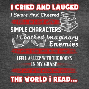 I Read Book Shirt - Women's Vintage Sport T-Shirt