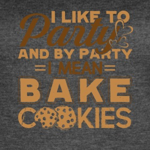 Funny Cookie Baking For Bakers Tee Shirt - Women's Vintage Sport T-Shirt