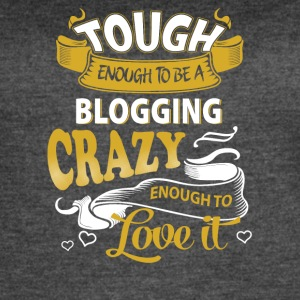 Touch enough to be a blogging - Women's Vintage Sport T-Shirt