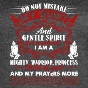 Christian Prayer Shirt - Women's Vintage Sport T-Shirt