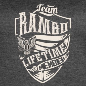 Team rambo lifetime member - Women's Vintage Sport T-Shirt