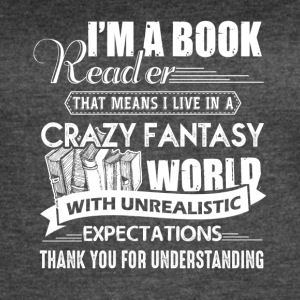 Book Reader Expectations - Women's Vintage Sport T-Shirt