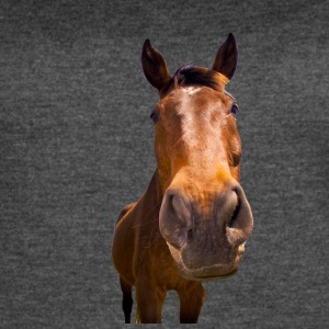 Horse, head - Women's Vintage Sport T-Shirt