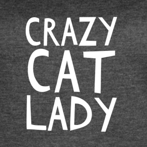 Crazy Cat Lady - I love cats! - Women's Vintage Sport T-Shirt