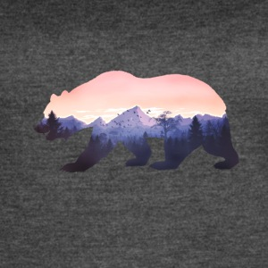 baer mountains national parc grizzly wild nature - Women's Vintage Sport T-Shirt