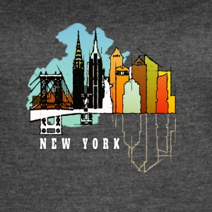 New York T-Shirt - Women's Vintage Sport T-Shirt