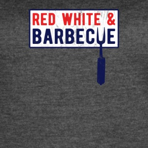 Red White And Barbecue - Women's Vintage Sport T-Shirt