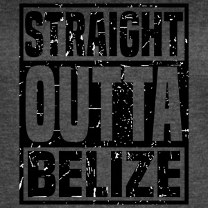 Straight Outta Belize - Women's Vintage Sport T-Shirt