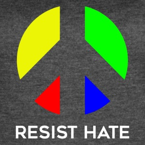 Resist rainbow - Women's Vintage Sport T-Shirt