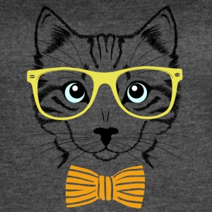 Fashionable Cat - Women's Vintage Sport T-Shirt