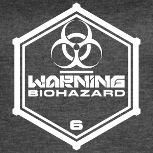 Warning: Biohazard - Women's Vintage Sport T-Shirt