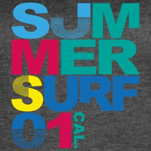summer-surf-cool-image-inscriptions - Women's Vintage Sport T-Shirt