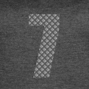 Lucky Number 7 with Lucky Chinese Character - Women's Vintage Sport T-Shirt