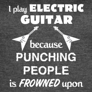 Electric Guitar Love Gift- cool shirt,geek hoodie - Women's Vintage Sport T-Shirt
