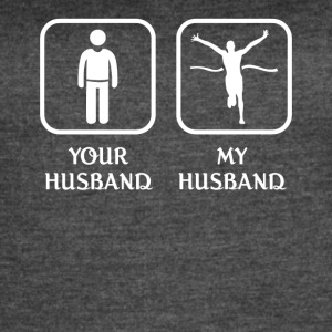 Husband Marathon Love- cool shirt,geek hoodie,tank - Women's Vintage Sport T-Shirt