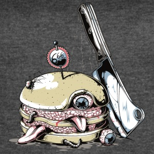 horror_hamburger_666 - Women's Vintage Sport T-Shirt