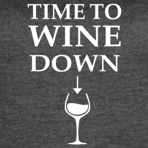 Time to Wine Down - Women's Vintage Sport T-Shirt