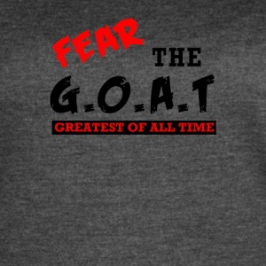 The GOAT - Women's Vintage Sport T-Shirt