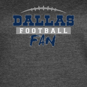Dallas Football Fan - Women's Vintage Sport T-Shirt
