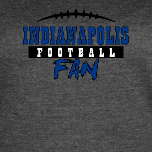 Indianapolis football fan - Women's Vintage Sport T-Shirt
