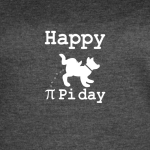 Happy funniest Pi or pee day - Women's Vintage Sport T-Shirt