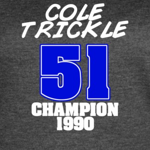 Cole Trickle Days Of Thunder - Women's Vintage Sport T-Shirt