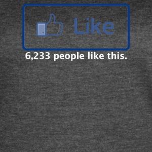 Facebook Like - Women's Vintage Sport T-Shirt