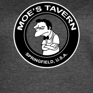 Moe s Tavern Springfield USA The Simpsons - Women's Vintage Sport T-Shirt